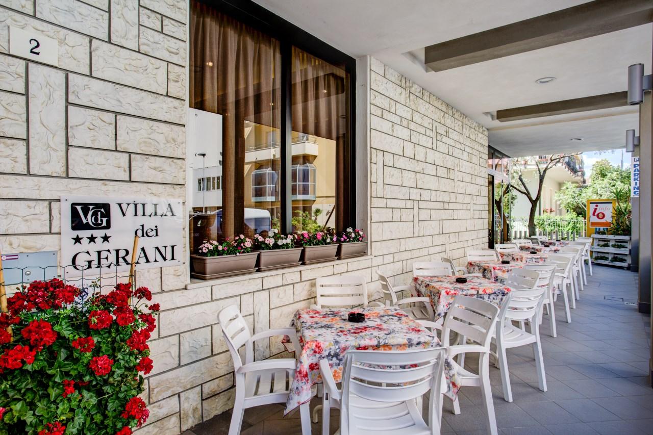Villa dei Gerani | Hotel 3 stelle Rivabella di Rimini