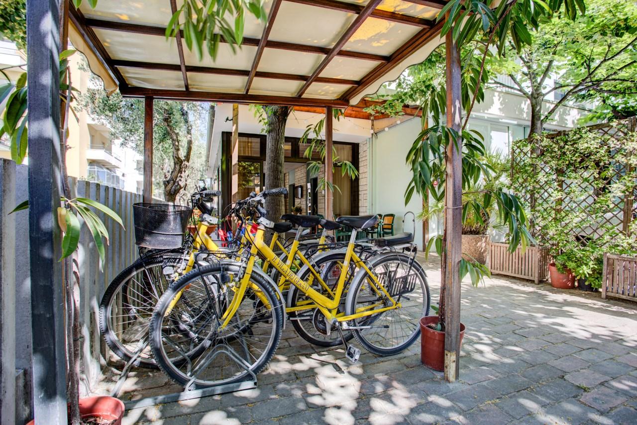 Hotel biciclette gratuite Rimini