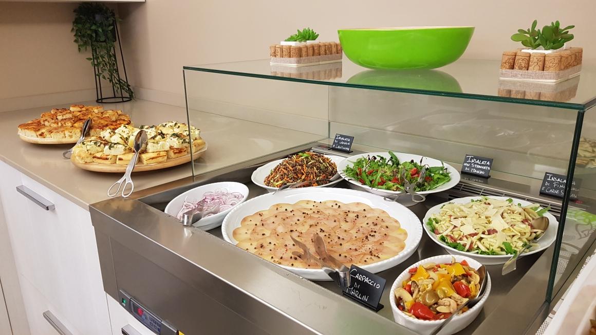 Buffet di Pesce_hotel con cucina_rimini